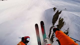 GoPro View: Freeskiing Pristine Alaskan Spines | Shades of Winter: Between