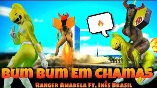 Baixar Bumbum em chamas - Ranger amarela ft. Inês Brasil