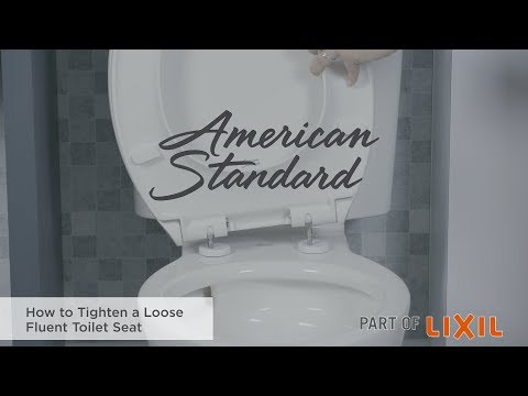 How To Tighten A Loose Fluent Toilet Seat