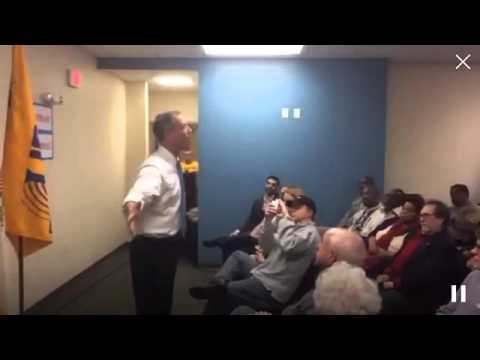 Martin O'Malley speaks in Davenport, IA 1.8.15