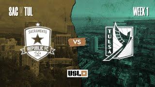 Sacramento Republic FC vs. FC Tulsa: March 7th, 2020