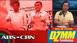 DZMM TeleRadyo: Comelec to poll bets: Don't repeat Go violation of 4-companion rule
