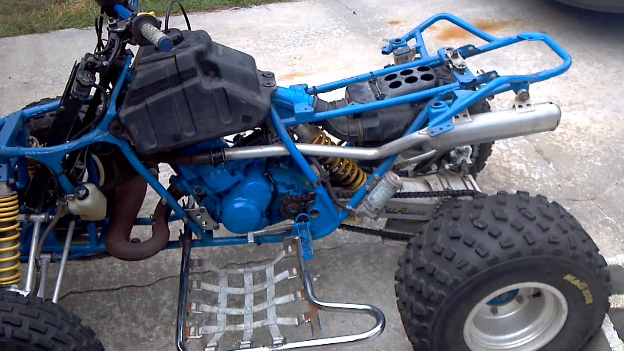 medium resolution of quadzilla suzuki 500 new top end