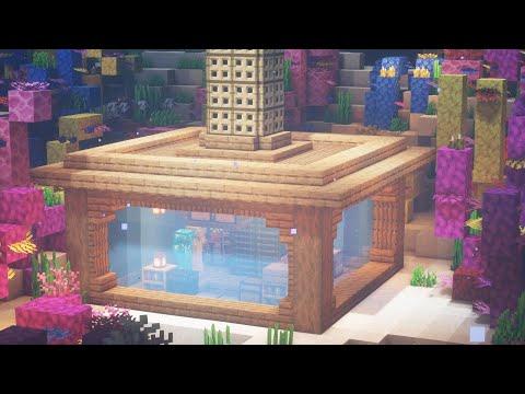 Стартовый дом под водой