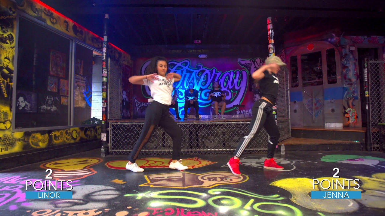 Urban Dance League  1v1 Linor vs Jenna