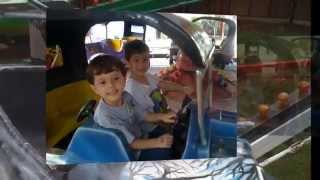 Passeio na Cidade da Criança Enzo e Matheus 18 10 2014