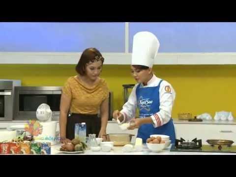 Bánh bông lan phô mai - Vui Sống Mỗi Ngày [VTV3 - 27.08.2013]