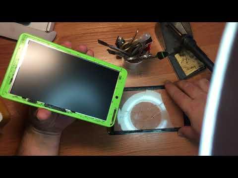 Замена стекла планшет GS 700