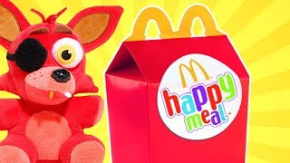 FNAF Plush - Foxy's Happy Meal 2