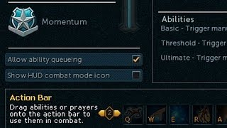 RuneScape 3 - Tips - XP Popout - Faster Abilities - Prayer Drain