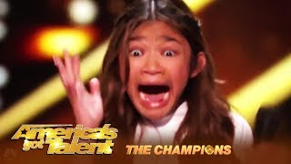 Angelica Hale: The Star Is Back to FIGHT! Agree w/Mel B or Howie? | America\'s Got Talent: Champions