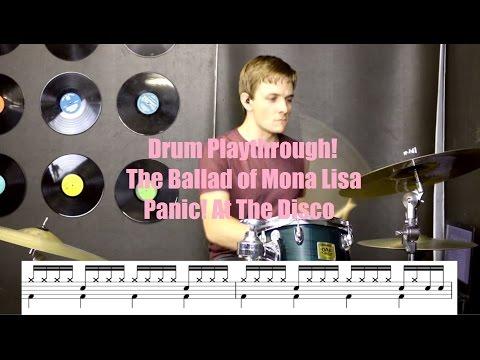 Drum Playthrough! The Ballad Of Mona Lisa - P!ATD