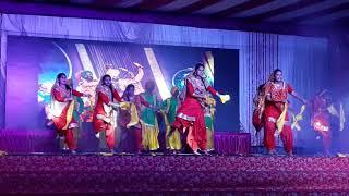 Bhangra GS a short clip of Annual Concert 2k18