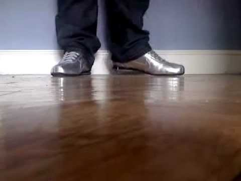cheap for discount 03361 173a9 My nike shox rivalry silver - YouTube