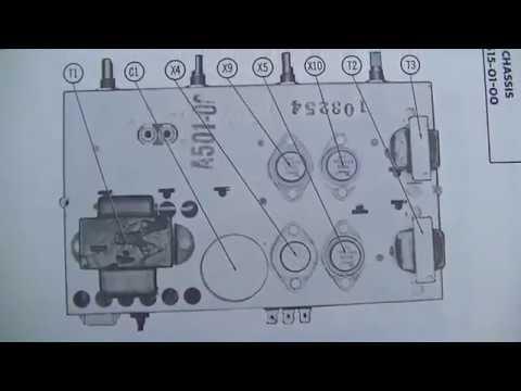 vintage magnavox console record player repair youtube rh youtube com 7 Pin Trailer Wiring Diagram 6-Way Trailer Plug Wiring Diagram
