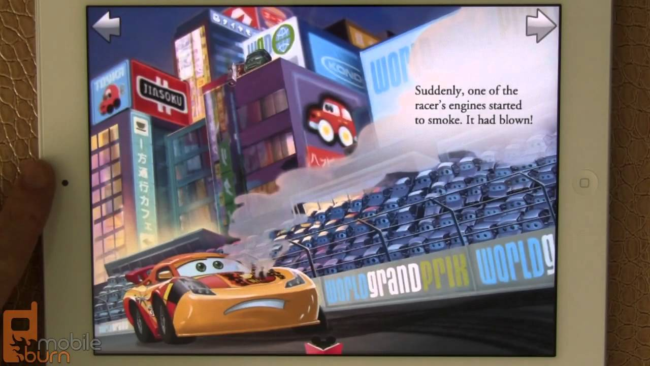 Disneys Cars Storybook Deluxe For IPad App Review YouTube - Cars 2 cool cars book