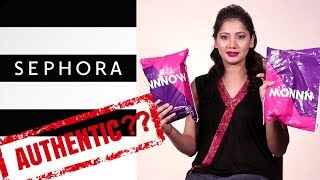 Sephora ONLINE In India - Fake OR Real??? | NNNow Website Review | NYX Haul