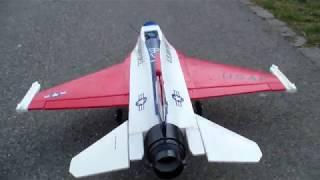 FLY MY F-16 USAF 70MM EDF ELECTRIC TURBINE MODEL JET