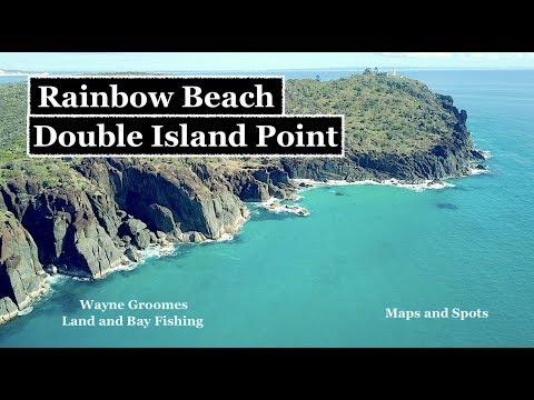RAINBOW BEACH, DOUBLE ISLAND POINT, Maps And Spots