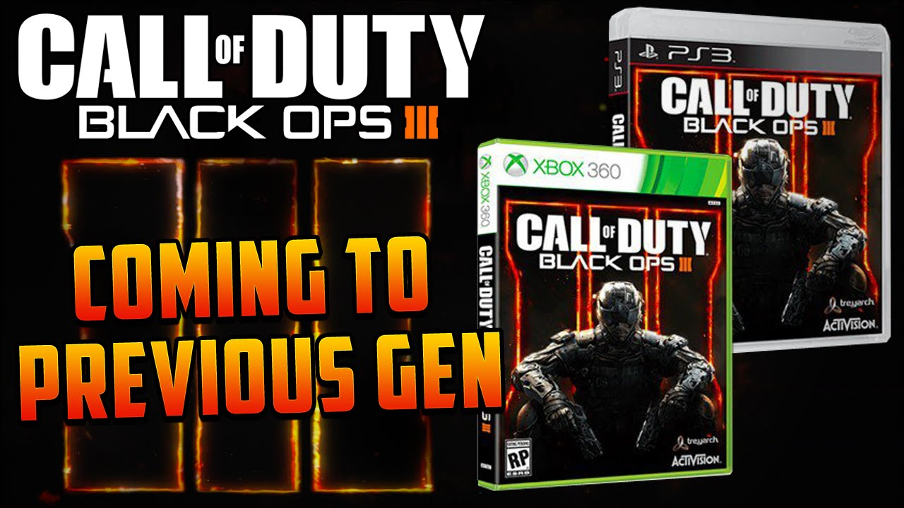 Call of Duty: Black Ops 3 - Coming To Xbox 360 & PS3 ...Video Games Xbox 360 Bo3