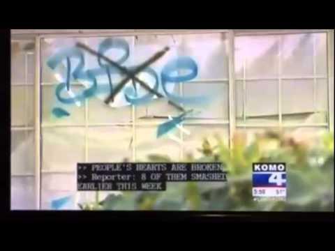 Seattle WA - Hindu temple vandalized