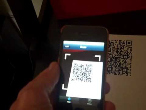 Using Scan App with QR codes for speech-language