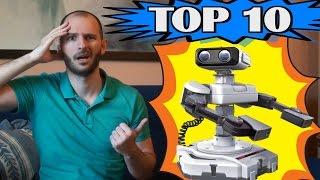 TOP 10 - ¡¡¡PEORES ACCESORIOS DE LA HISTORIA!!! - Sasel - Periféricos - Consolas - Videojuegos