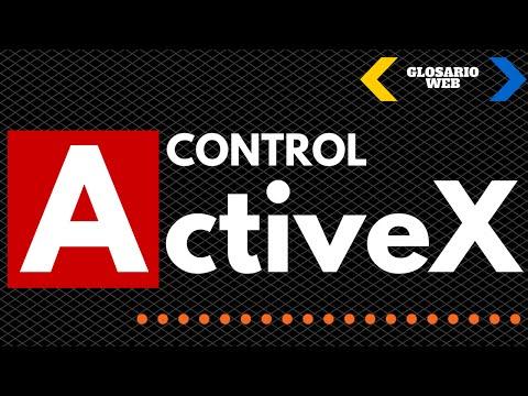 QUE ES ACTIVEX - 2018