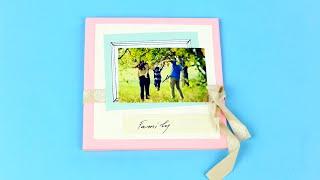 Скрапбукинг: семейный альбом своими руками