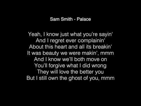 Sam Smith - Palace Lyrics ( In Japan Version )