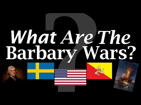 What are the Barbary Wars?