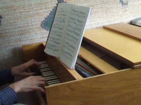 Invention no13 J.S. Bach on harpsichord