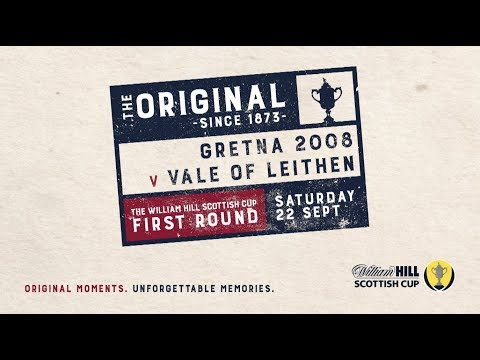 Gretna 2008 3-2 Vale of Leithen | William Hill Scottish Cup 2018-19 – First Round