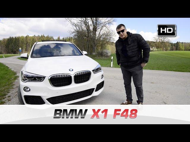 Обзор и Тест Драйв BMW X1 F48