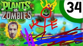 Chaotische Chaos - Plants Versus Zombies Playthrough #34