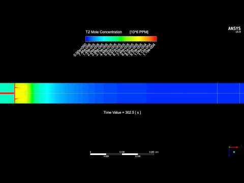 ANSYS Fluent : Reaction