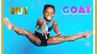 "Baby Simone Biles!  Rare Footage of her start in Gymnastics and the creation of ""The Biles"""
