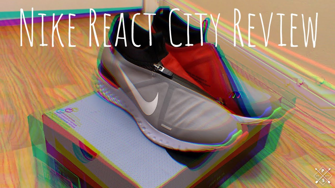 Nike React City Shoe Review and On Foot
