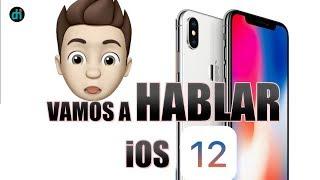 iOS 12 TODAS LAS NOVEDADES- PRIMERAS IMPRESIONES EN ESPAÑOL CREANDO MEMOJIS IOS 12