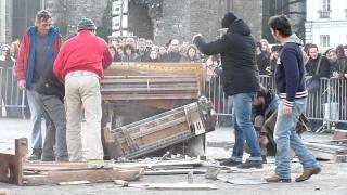 Royal de Luxe - Catapultage de pianos @ Nantes - 10/12/2011
