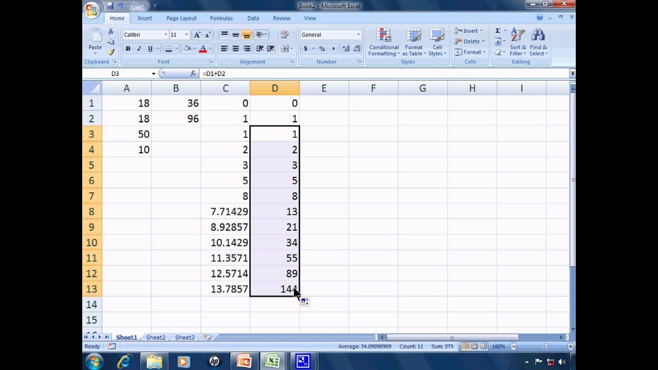 Excel Tutorial 3