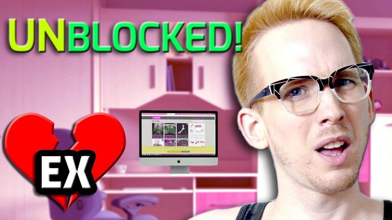 ex boyfriend unblocked me on facebook