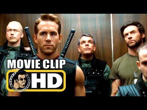 X-MEN ORIGINS: WOLVERINE (2009) Wade Wilson Deadpool Scene | Ryan Reynolds Marvel Superhero Movie HD