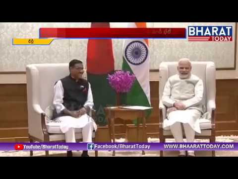 #PM Narendra Modi Meets Bangladesh Road Transport Minister | Bharattoday
