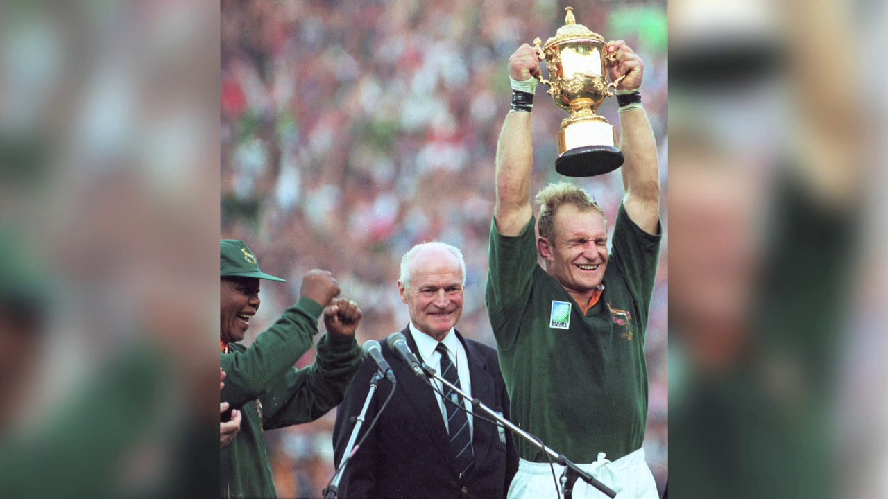 Ce jour l 24 juin 1995 finale de la coupe du monde de rugby youtube - Finale coupe du monde rugby 1995 ...