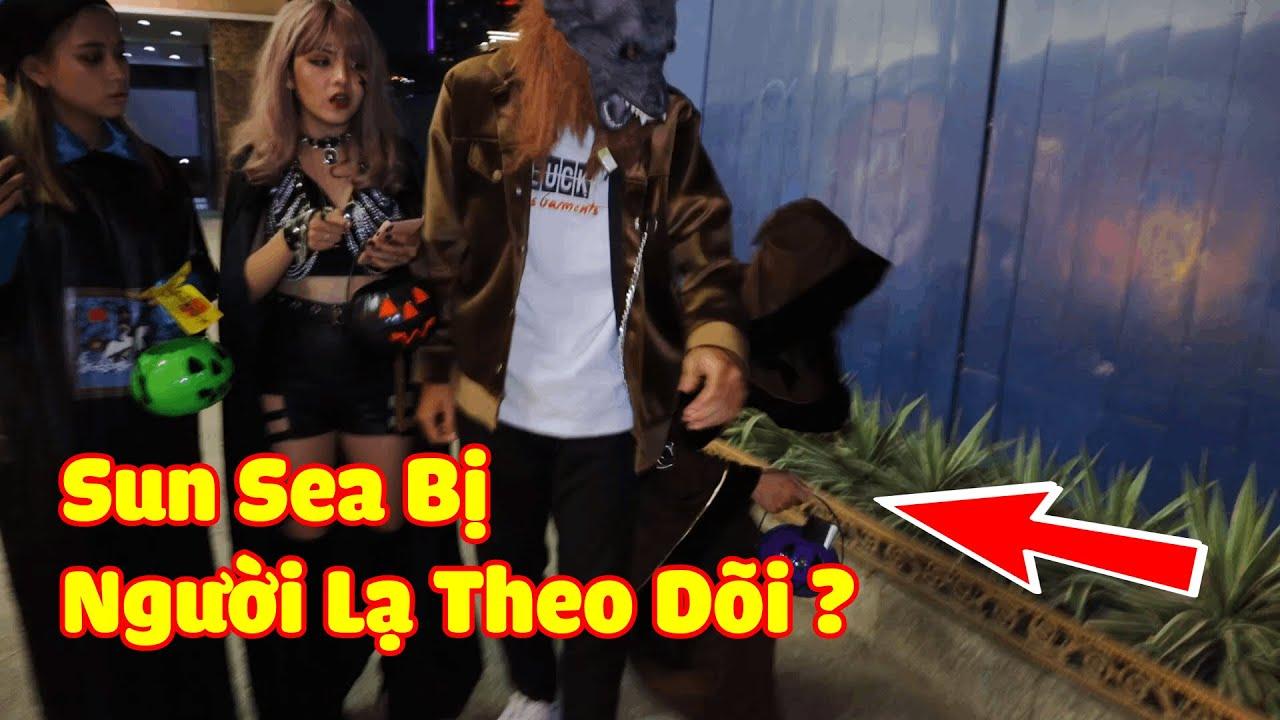 Nhóm Sun Sea Bị Tụi Áo Nâu, Áo Đen Giựt Mất Giỏ Kẹo Halloween ??? | Sun Sea Channel