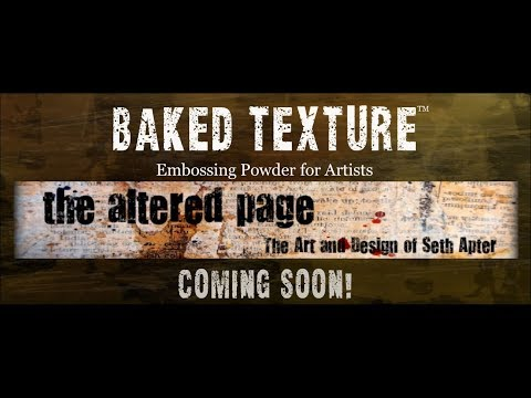 Introducing the new Emerald Creek Baked Texture embossing powder