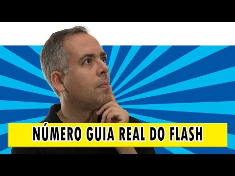 Como descobrir o numero guia real do seu flash?