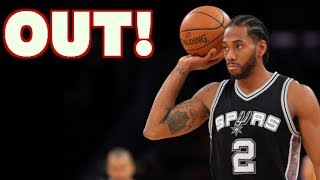 Kawhi Leonard OUT INDEFINITELY! Can He Get Back to Full Strength?