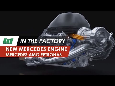 Mercedes AMG Petronas F1 W05 2014 new engine | IN THE FACTORY